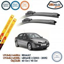 Renault Megane 2 Muz Silecek Takımı (2003-2005)